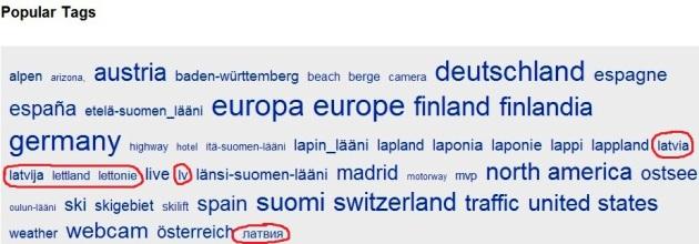 Latvija tag