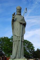 Piemineklis Sv.Malahijam. Ardas pilsēta Ziemeļīrijā
