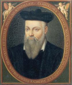 Savulaik tika izvirzīta versija, ka īstais Malahija pravietojuma autors ir gašreģis Nostradamus.