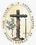 Ticības doktrīnas kongregācijas (Svētās Inkvizīcijas) ģerbonī attēlots olīvas zars.