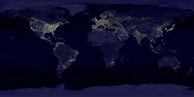 Zemeslode naktī