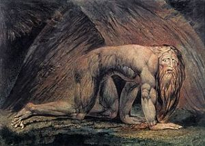 William_Blake_Nebuchadnezzar