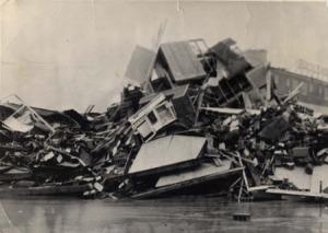 ASV Austrumu piekraste pēc 1962.gada vētras.