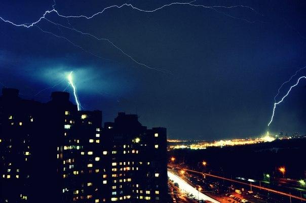 Nakts negaiss virs Kijevas 19.05.14 @ Владимир Коваленко